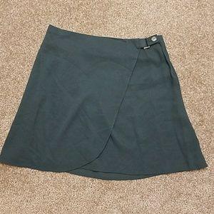 Small Green Wrap Skirt